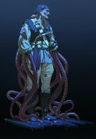 Tentacle-guy by WouterGort