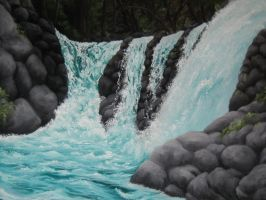 Boulder Falls by crazycolleeny