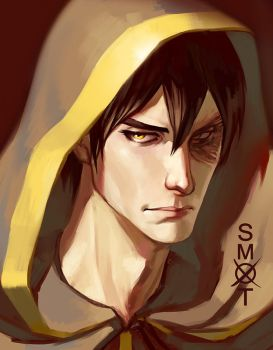 Zuko commission portrait by Smoxt