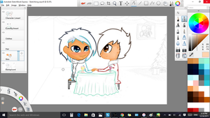 Christmas Special Gift WIP (3) by GalaxyCalotype