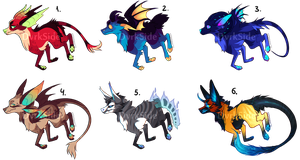 Colorful Adoptable Batch | Set Price CLOSED by DvrkSide