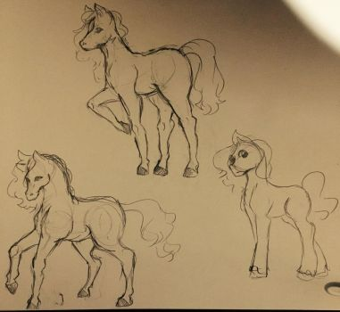 Horsies by Ailizerbee08