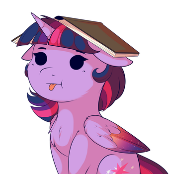 Book On Head by Evehly