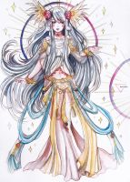 Watercolor commission: Revelation Online by Inntary