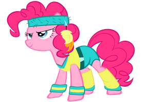 Pinkie's Ready(Suit) - Vector by GuruGrendo