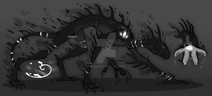 Shadow Creature: CLOSED by EVR4H