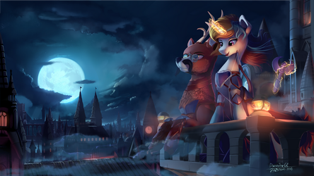 Gothic coolness by DiscordTheGE