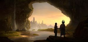 Gate of the Noldor by jonathanguzi