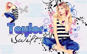 wallpaper taylor swift by MyHeartWithJoe