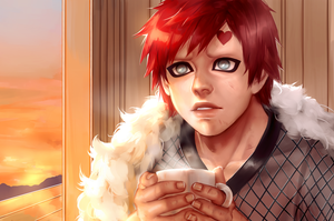Gaara - After the battle by venquian