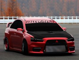 Mitsubishi EVO Tuning by turkiye2009