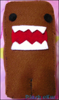 Domo-kun Plush by MomoKiko