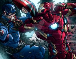 Civil War by ArtOfTDJ