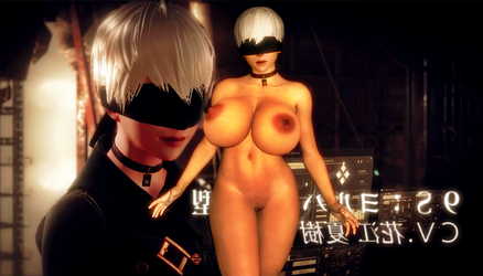 Nier : Automata 9S ( Nude ) ( With Fixed Head ? ) by CyberBrian360