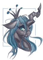 Queen Chrysalis by Lunathyst