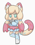 Donut Kemonomimi [AUCTION][CLOSED] by alliemews