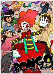 Bongo The Clown Promo Poster by Kinbarri