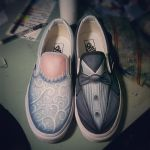 Bride and Groom Shoes by JordanMendenhall