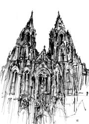 Cologne Cathedral by onverra