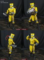 AIM Technician custom marvel legends action figure by Jin-Saotome