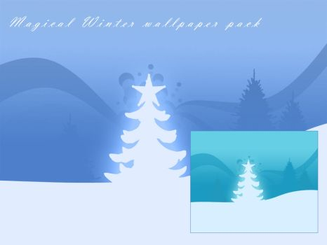 Magical Winter Wallpaper Pack by Scully7491