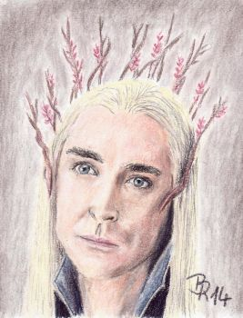 Thranduil by LoonaLucy