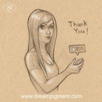 Thank You - Instagram by DreamPigment