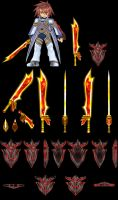 ToS Character References 004-2 -Kratos Cruxis Wep- by G--u--y