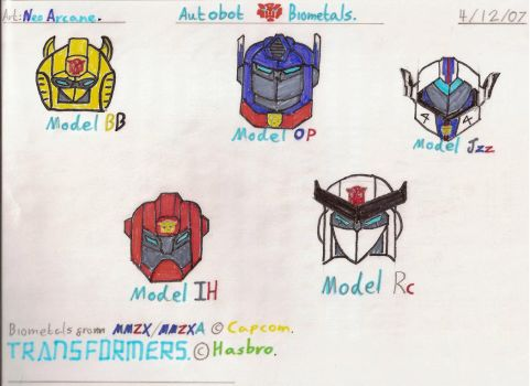Autobot Biometals by Phil-Mc