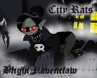 City Rats - Blight Ravenclaw by PlayboyVampire