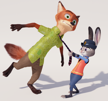 Nick Wilde 3D model update [download] by John2903