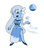 Paypal/Points Adoptable: Azure Sapphire  :CLOSED: by Thongchan