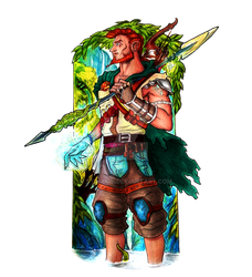Erald - A Wandering Hunter by Stamios
