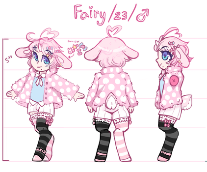 Character Sheet: Fairy (2018) by Rogue-Incubi