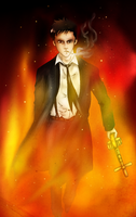 I am Constantine by IchiOfTheRainbow