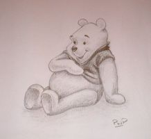 Winnie the Pooh by spudsonfire