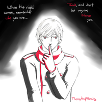 Don't let them silence you by themythoftheair