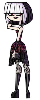 Total Drama Crimson |Lace| png version by alter-gioia01