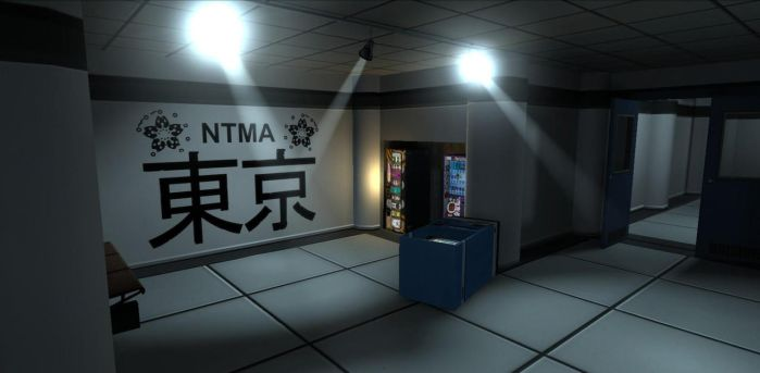 Neotokyo - Elevator Entrance by FuncDetail