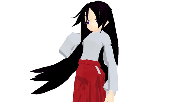 MMD Newcomer - Rei Hino (DL) by Xeno-Fan-Jay