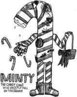 Minty The Candy Cane- Break Time Sketches by jamesgannon
