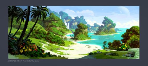 Skyforge. Island 01 by Andead