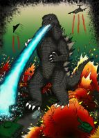 Godzilla King of the monsters by SaintNick14