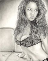 Kelly Brook by Anthony-Woods