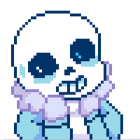 Sans Pixel Art by tanooklings