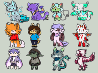 15k Stream Chibis by theIcecolo