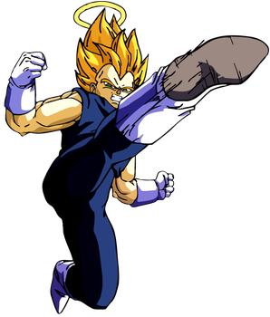 Render Vegeta aldila by Poh2000