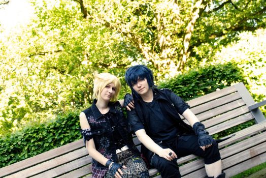 Noctis and Prompto by PoisonCave