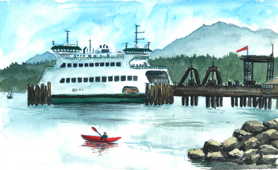 June Ferry by SeeWoods