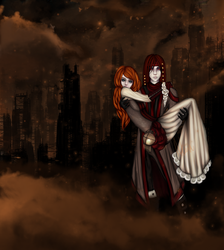 I would burn cities for you by Athenas-Sanctuary